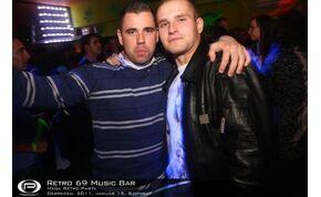 Debrecen, Retro 69 Music Bar - 2011. január 15. Szombat