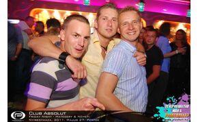 Nyíregyháza, Club Absolut - 2011. Május 27. Péntek