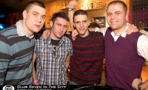 Nyíregyháza, Club Seven In The City - 2011. január 19. Szerda