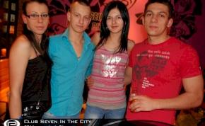 Nyíregyháza, Club Seven In The City - 2011. február 4. Péntek