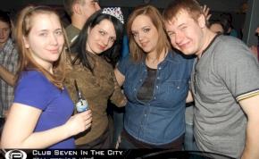 Nyíregyháza, Club Seven In The City - 2011. február 7. Hétfő