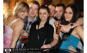 Nyíregyháza, Club Seven In The City - 2011. február 9. Szerda