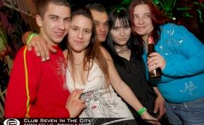 Nyíregyháza, Club Seven In The City - 2011. február 16. Szerda