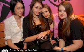 Nyíregyháza, Club Seven In The City - 2011. február 18. Péntek