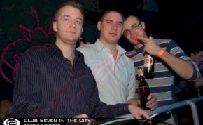 Nyíregyháza, Club Seven In The City - 2011. február 21. Hétfő