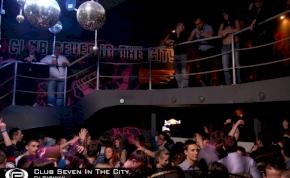 Nyíregyháza, Club Seven In The City - 2011. Március 18. Péntek