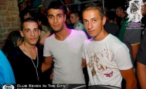 Nyíregyháza, Club Seven In The City - 2011. Szeptember 2. Péntek