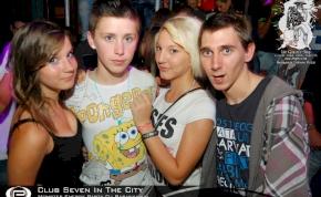 Nyíregyháza, Club Seven In The City - 2011. Szeptember 9. Péntek