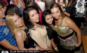 Nyíregyháza, Club Seven In The City - 2011. Szeptember 23. Péntek
