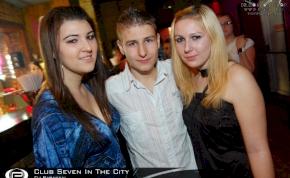 Nyíregyháza, Club Seven In The City - 2011. November 7. Hétfő