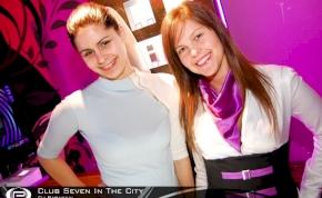 Nyíregyháza, Club Seven In The City - 2012. Február 3. Péntek