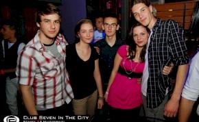 Nyíregyháza, Club Seven In The City - 2012. Április 13. Péntek