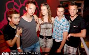 Nyíregyháza, Club Seven In The City - 2012. Június 8. Péntek