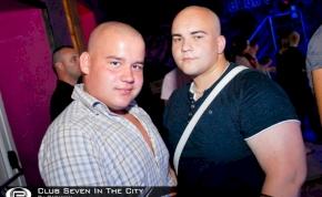 Nyíregyháza, Club Seven In The City - 2012. Június 29. Péntek