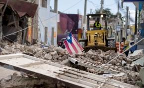Puerto Rico a földrengés után