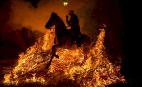 Tűzlovaglás Spanyolországban, Luminarias fesztivál
