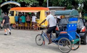 Egy madagaszkári piac, amely a város üde színfoltja