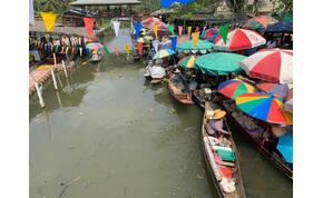 A thaiföldi piacok végeláthatatlan labirintusai
