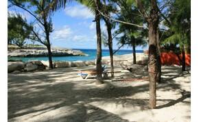 Egy magánsziget a Karibi-szigetvilágban, ami nem a való világ