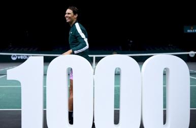 Megszerezte 1000. győzelmét Nadal