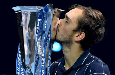 Danyiil Medvegyev nyerte a 2020-as ATP világbajnokságot