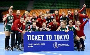 Kijutott a női kézilabda válogatott a tokiói olimpiára