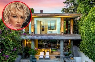 Less be velünk Pamela Anderson meseszép házába!