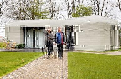 Kukkants be az első 3D-nyomtatott holland házba!