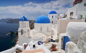 Utazás: Varázslatos Santorini