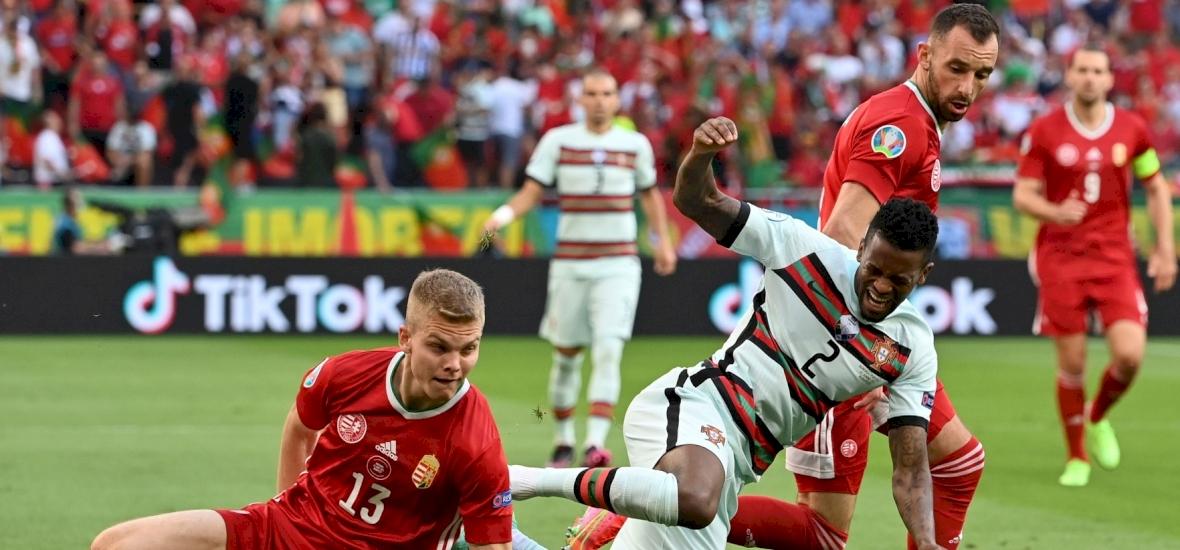 A Magyarország-Portugália mérkőzés legjobb képei