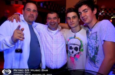 Debrecen, Retro 69 Music Bar - 2010. november 23. Kedd