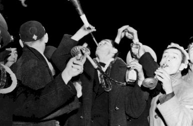 Szilveszter a II. világháború előtt és után
