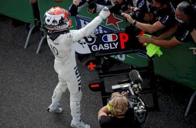 Pierre Gasly megszerezte első győzelmét a Forma 1-ben