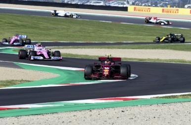 Két piros zászló a Ferrari ünnepén