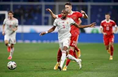 0-0 az orosz válogatott ellen