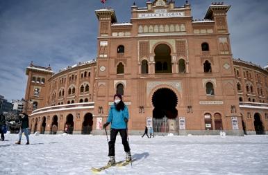 Rendkívüli havazás Spanyolországban