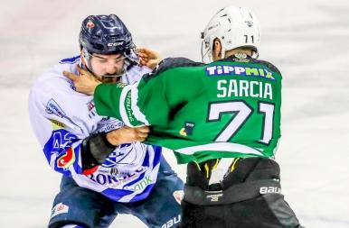 Az FTC - Csíkszereda mérkőzésen összeverekedett két játékos