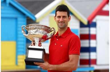 Djokovics az Australian Open győztese
