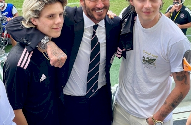 Egy focilegenda élete képekben – 46 éves lett David Beckham