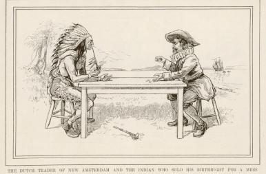 Tudtad? 395 évvel ezelőtt ezen a napon vették meg New York területét az indiánoktól