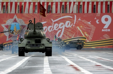 Elképesztő katonai felvonulás a Vörös Téren