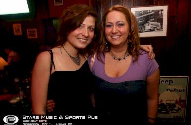 Debrecen, Stars Music & Sports Pub - 2011. január 22. Szombat
